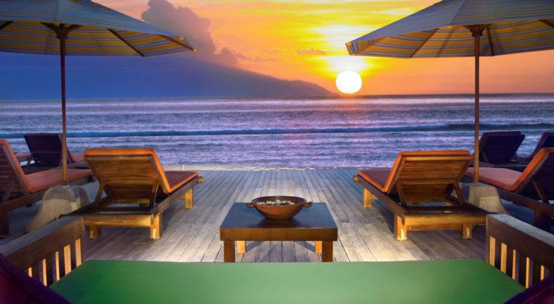 ジャカルタ発 ロンボク島 2泊3日 パッケージ  ギリ島泊
