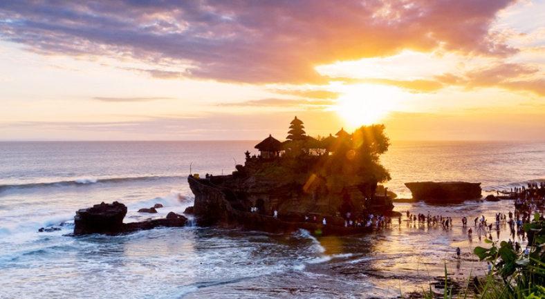 バリ島発 タナロット寺院のサンセット&タマンアユン&世界遺産ジャティルイ棚田-D7/D8/D9