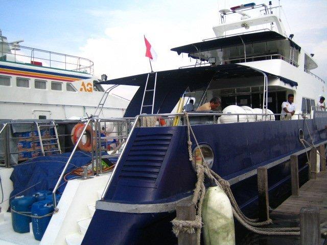 プロウスリブ 高速船