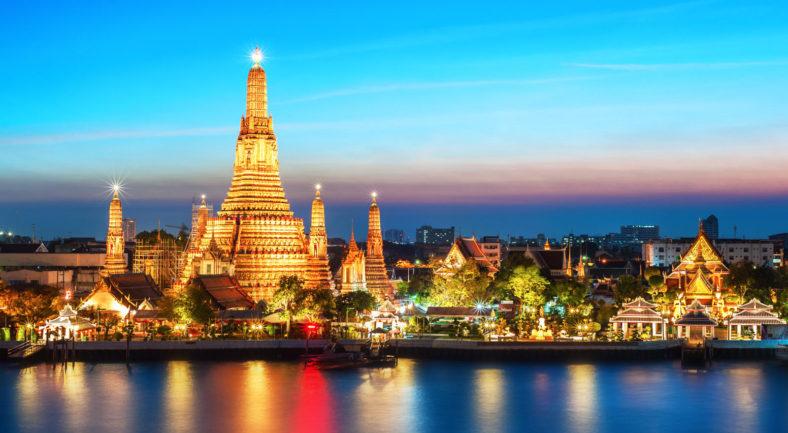 ジャカルタ発バンコク  見所押さえた観光付 タイ満喫 2泊3日