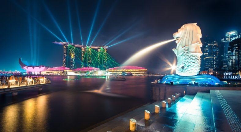 ジャカルタ発 シンガポール マーライオン レゴランド フリープラン2泊3日