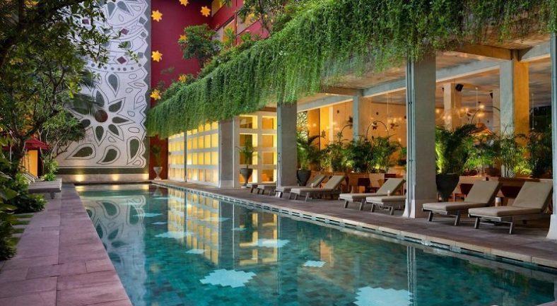 【ジャカルタ発】アラヤ リゾート クタ ( Amnaya Resort Kuta ) バリ島2泊3日<専用車/往復送迎/キタス割引>